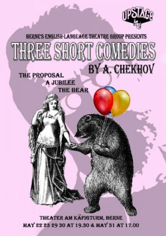 Chekhov Comedies Flyers