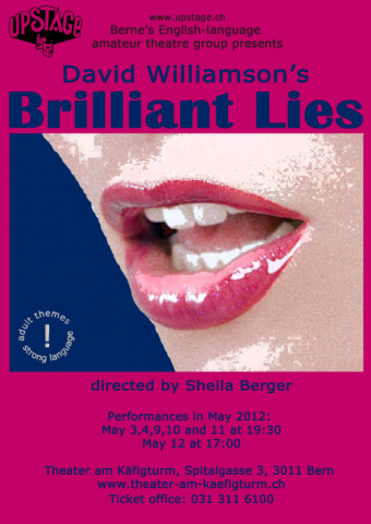 Brilliant Lies Poster from UPSTAGE