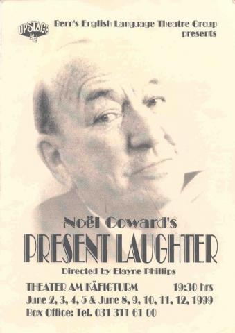 Present Laughter Flyer