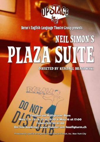Plaza Suite Flyer