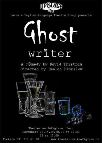 Ghost Writer Flyer